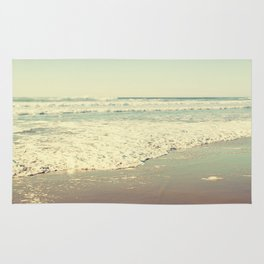 Oregon Beach Lomography Rug