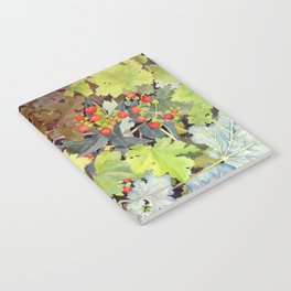 Hypericum & Heuchera Notebook