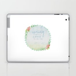 spring will come / before our spring Laptop & iPad Skin