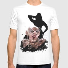 Monster Madness: Grand High Witch  Mens Fitted Tee White MEDIUM