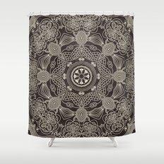 Spiritual Mantra Shower Curtain