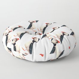 Puffin Floor Pillow