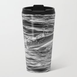 Common Dolphin Metal Travel Mug