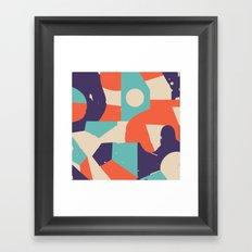 No Rush Framed Art Print