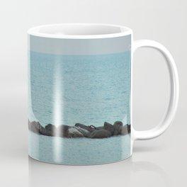 Between Sea and Sky Coffee Mug