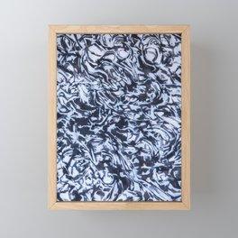 She Sees Skulls Framed Mini Art Print