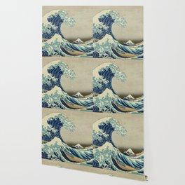 Ukiyo-e, Under the Wave off Kanagawa, Katsushika Hokusai Wallpaper