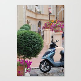 Streets of Monte Carlo, Monaco Canvas Print