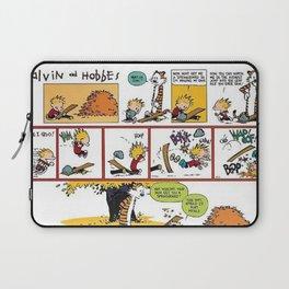 Comic Calvin Hobbes Laptop Sleeve