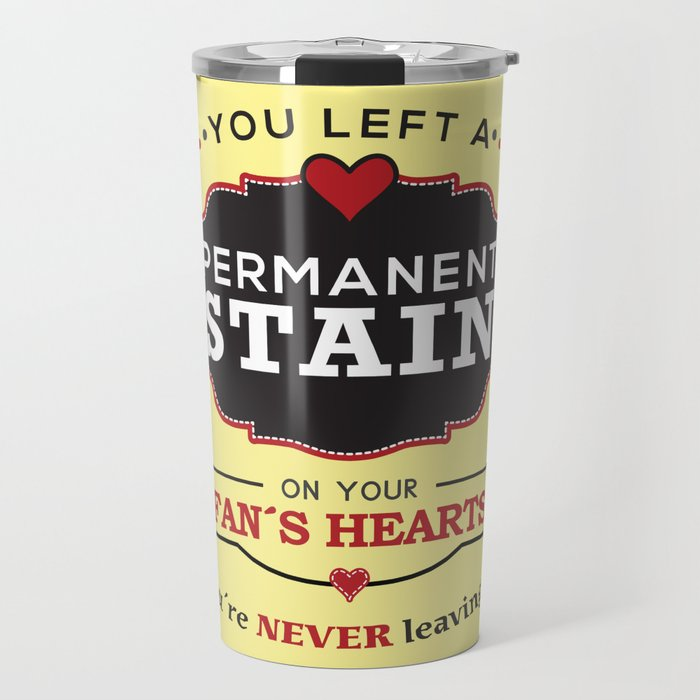 Permanent Stain Travel Mug