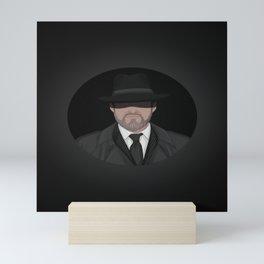 Secret Agent Man - color Mini Art Print