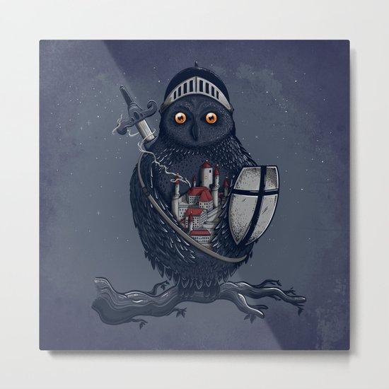 Night Watchman Metal Print