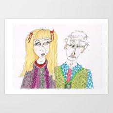 Knitwears Art Print