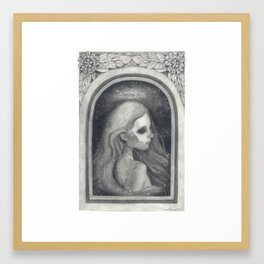 You Never Died Framed Art Print