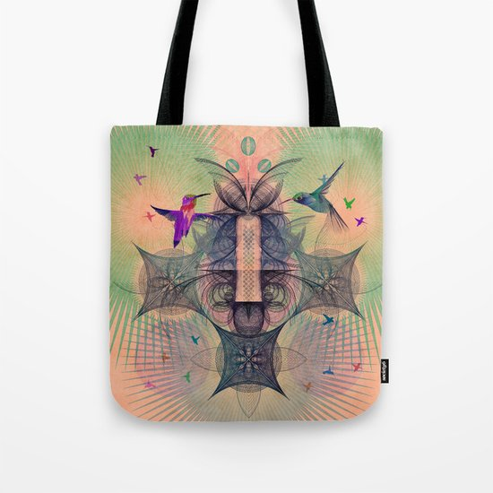 The Hummingbird Dimension Tote Bag