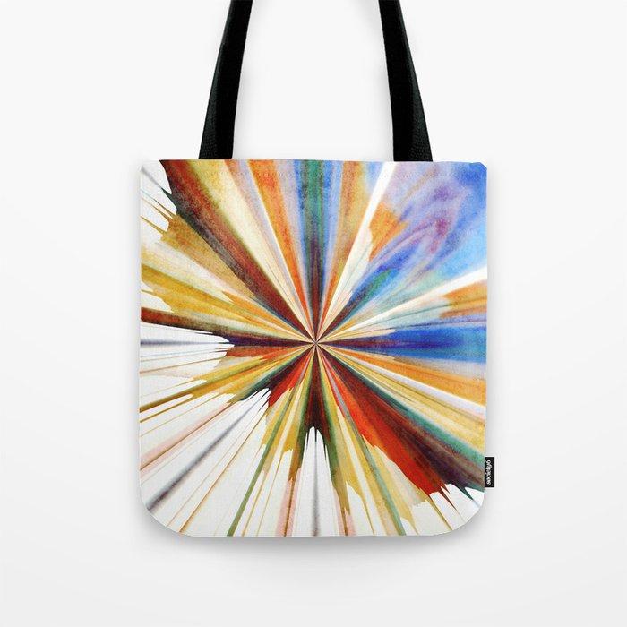 Colorful Splash Tote Bag