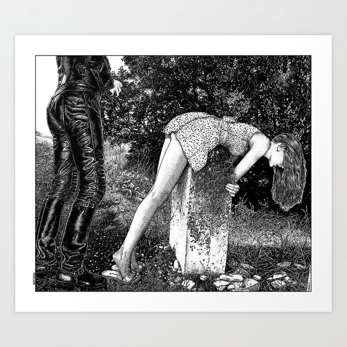 asc 731 - L'autel de la fidélité (Elegy to a Deceased husband) Art Print