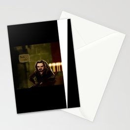 Concept Art Merde Voilà Stationery Cards