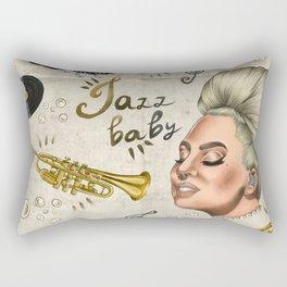 Jazz Baby Rectangular Pillow