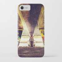 graffiti iPhone & iPod Cases featuring 'GRAFFITI' by Dwayne Brown