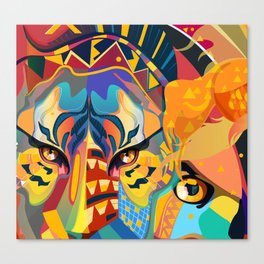 Its a Jungle out there Canvas Print