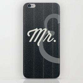 Mr. iPhone Skin