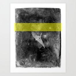 DAG IV (yellow) Art Print