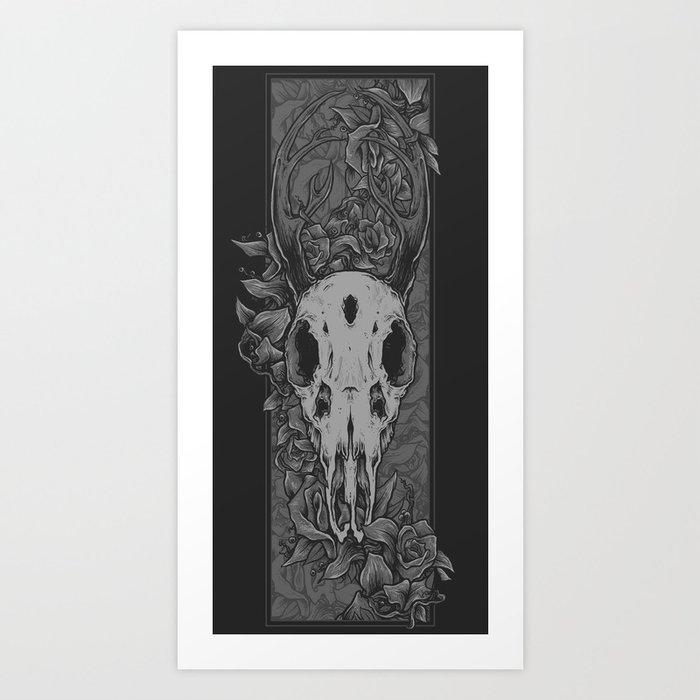 Dried Up Art Print