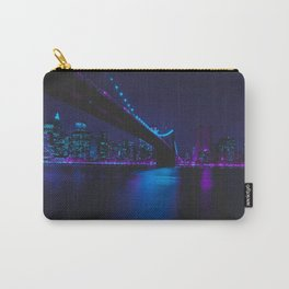 Future Skyline Cyberpunk City Carry-All Pouch
