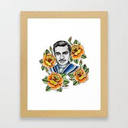 Mauricio Garcés  Framed Art Print