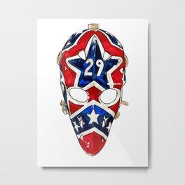 Palmateer - Mask 1 Metal Print