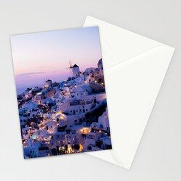 Sunset in Oia, Greece #society6 #decor #buyart Stationery Cards