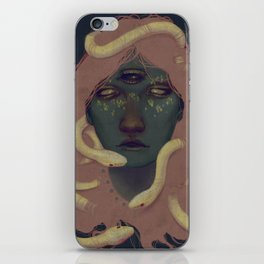 of witches and pets iPhone Skin