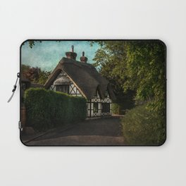 A Berkshire Half Timbered Cottage Laptop Sleeve
