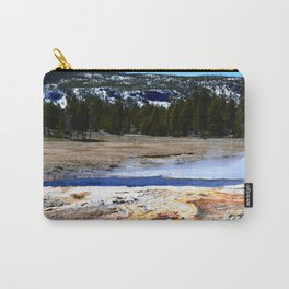 Castle Geyser-Yellowstone Carry-All Pouch