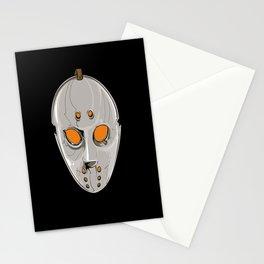 Hockey Goalie Mask Stationery Cards
