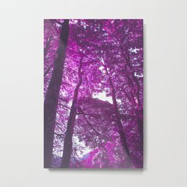 Violet Endless Album - Color Pain Metal Print
