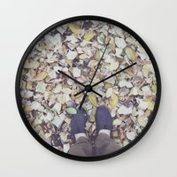 feet Wall Clocks featuring Feet by Jeremiah Locke