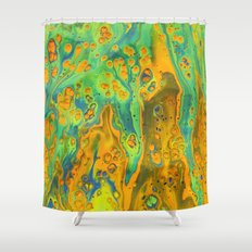 Crater 1 Shower Curtain