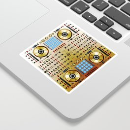 DDJ SX N In Limited Edition Gold Colorway Sticker