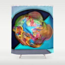 Little big bang ... Shower Curtain