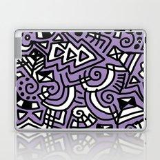 The Purple Doodle Laptop & iPad Skin
