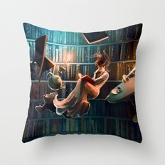 Need more than one life Throw Pillow