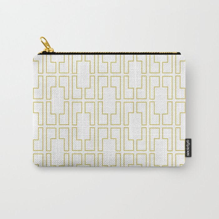Simply Mid-Century in Mod Yellow Carry-All Pouch