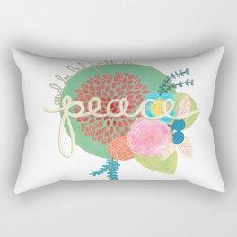 Isaiah peace Rectangular Pillow