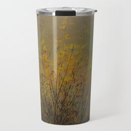 Vintage flowering bloom Travel Mug