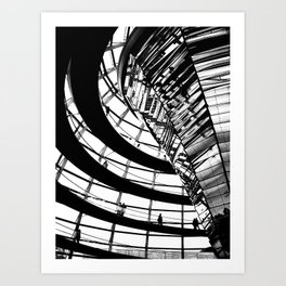 Berlin & Beyond Art Print