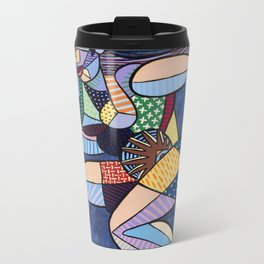 Twist Metal Travel Mug