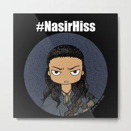 Sassy Nasir (Spartacus) Metal Print