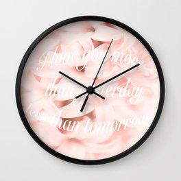 Be my Valentine... Wall Clock